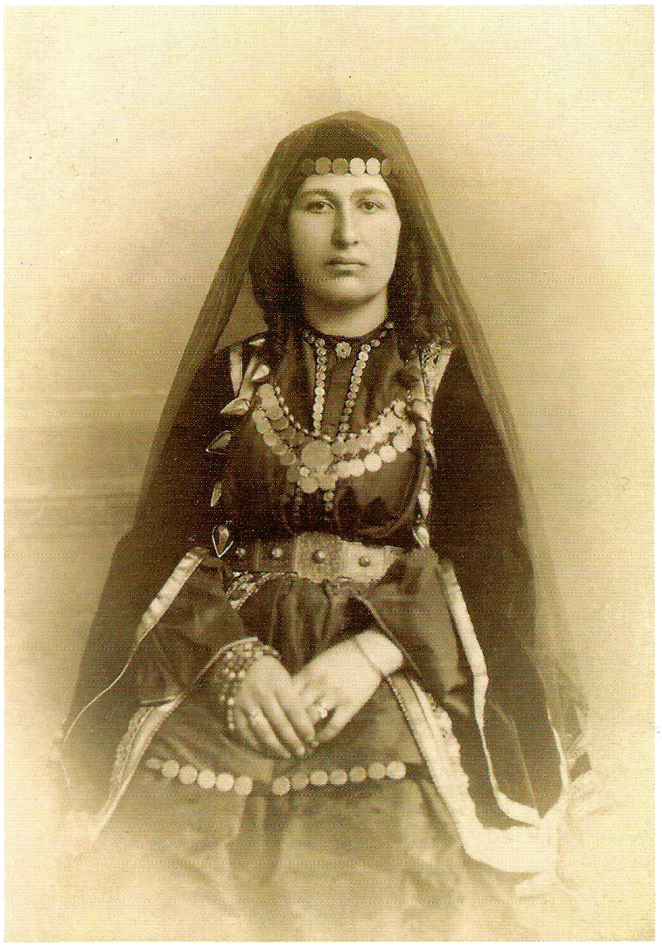 Armenian woman from Shushi