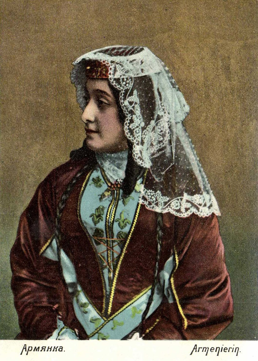 Head Ware Armenian Woman